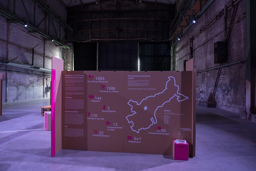 Ausstellung ArchitekturForumLübeck