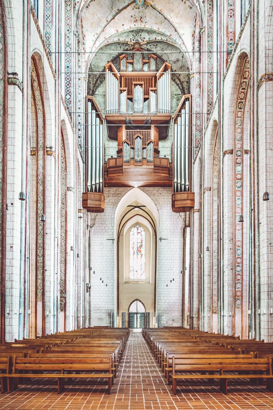 Hauptorgel in der Marienkirche