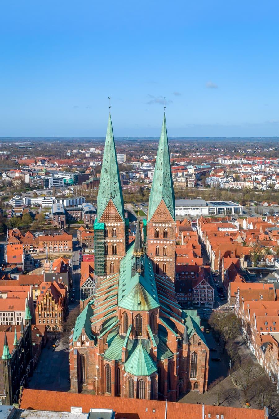 Marienkirche St. Marien in Lübeck