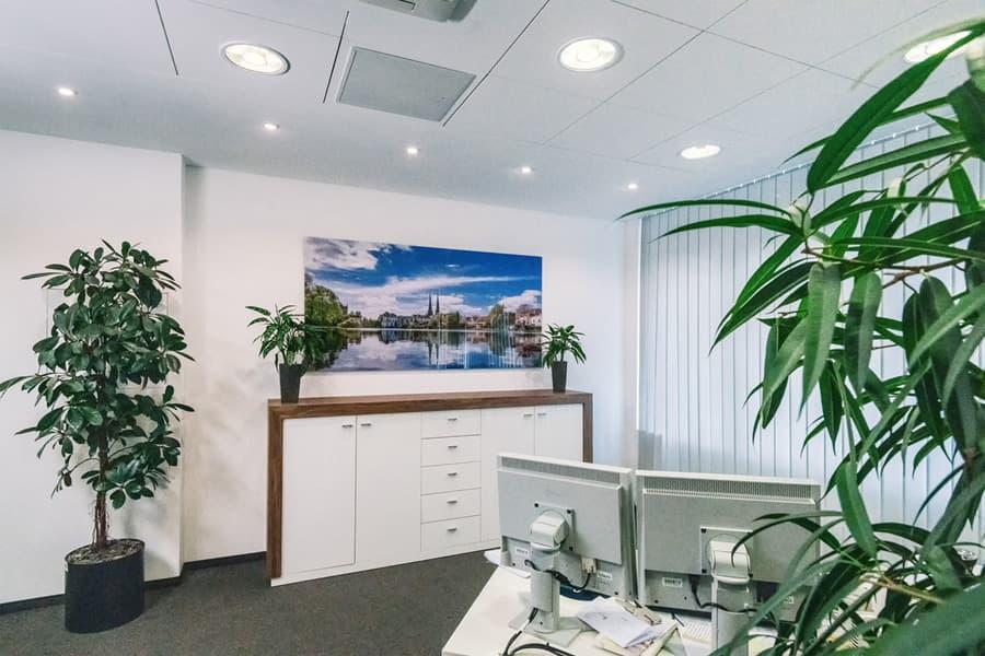 Acrylbild in der Deutschen Apotheker- und Ärztebank