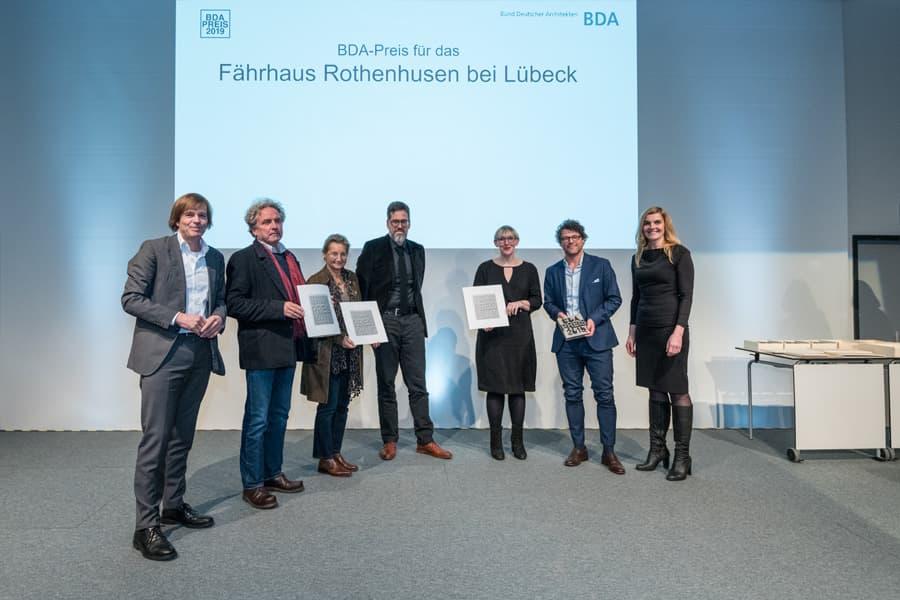 BDA-Preis an das Fährhaus Rothenhusen