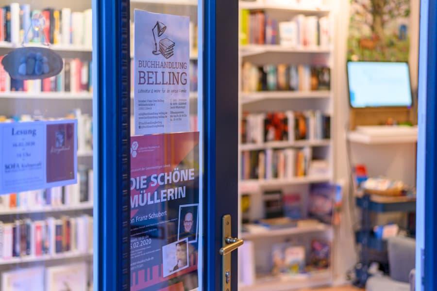 Beliebte kleine Buchhandlung